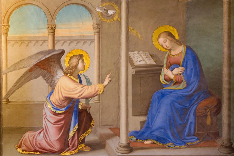 Bonne et sainte fête de l'Annonciation ! Annonciation-de-l-ange-a-marie