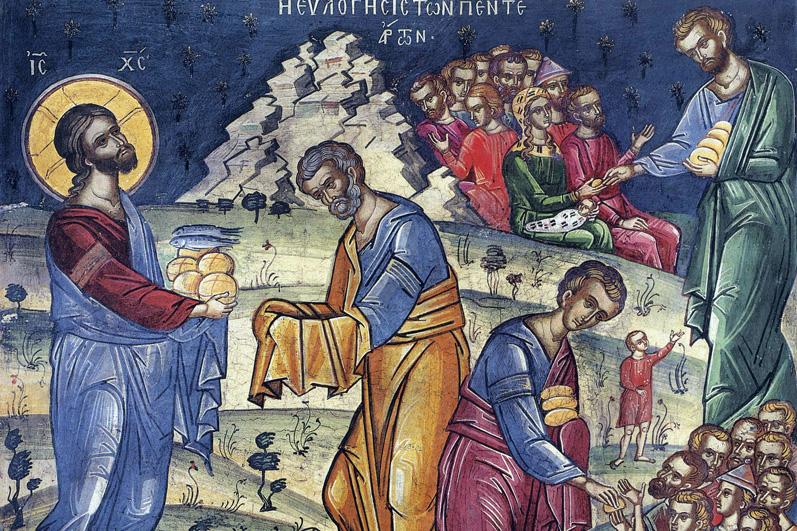 Jésus guérit les infirmes et multiplie les pains dans homélies particulières seconde-multiplication-des-pains