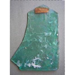 Fragment de vitre de Pompéi