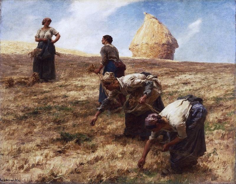 Leon Augustin Lhermitte - Les Glaneurs 1887