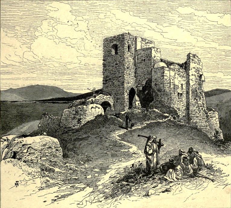 La tour de Jezraël, telle qu'en 1870