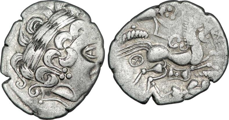Statère d'argent (1er siècle av. J.-C).