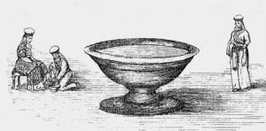 Purification avec l'eau lustrale