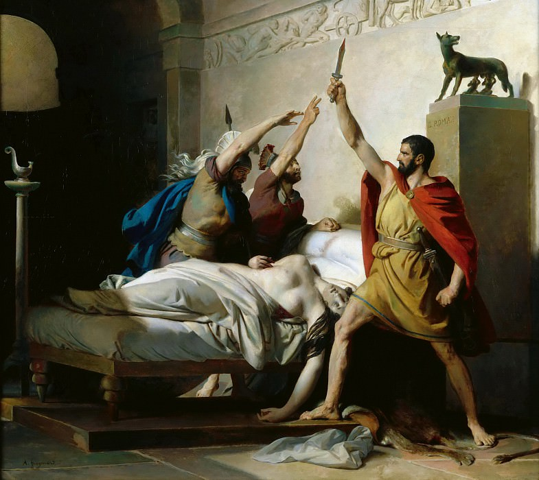 Le serment de Junius Brutus (Fragonard)